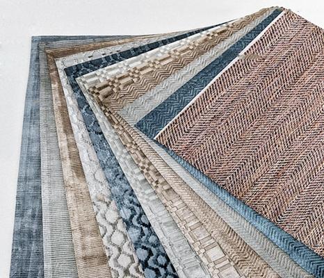 现代地毯组合3D模型【ID:419707033】