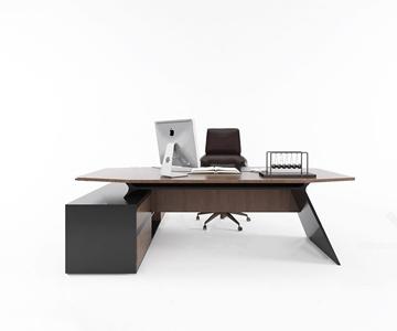 現代辦公書桌椅3D模型【ID:941354190】