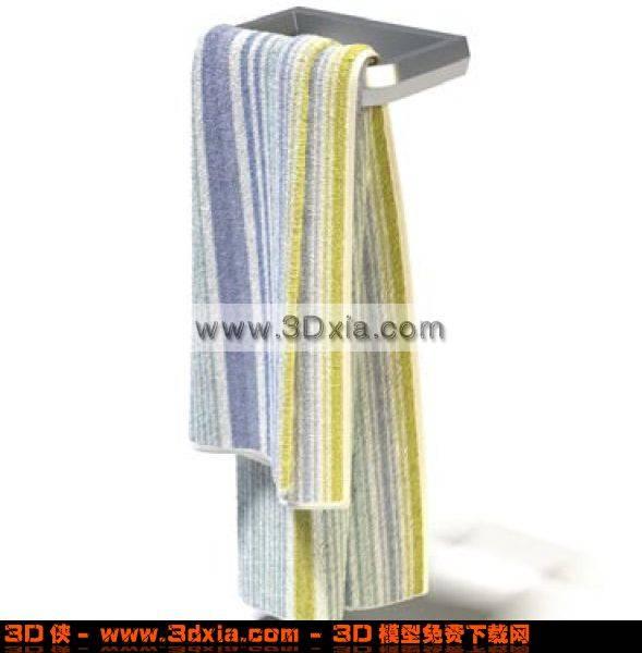 很时尚的手巾3D模型【ID:4747】