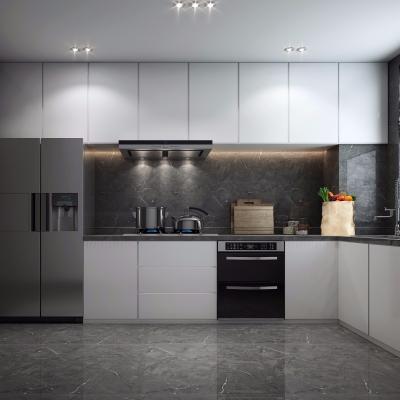 现代厨房橱柜3D模型【ID:127764497】
