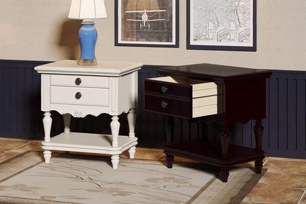美式床头柜3D模型【ID:928336699】