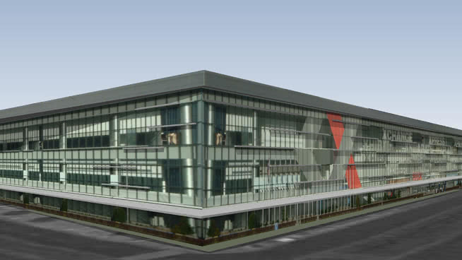 SMX会议中心(Maistad会议中心)SU模型【ID:637818019】