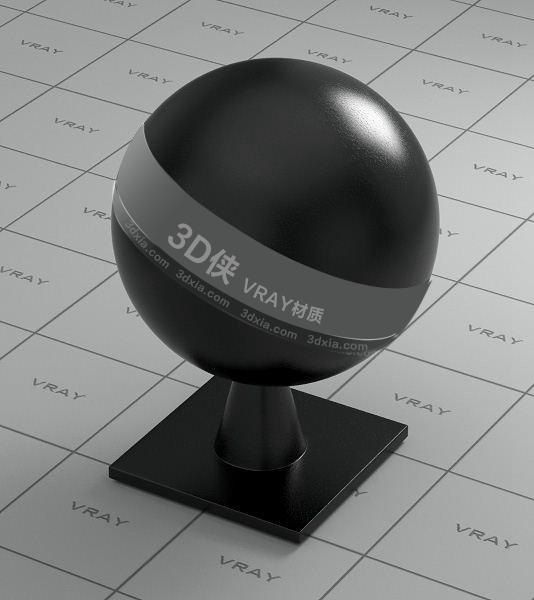 黑色皮革Vray材質【ID:736439920】