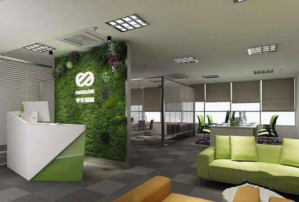 现代办公室3D模型【ID:728122646】