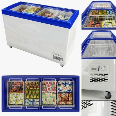現代超市冰箱冰柜3D模型【ID:128412274】