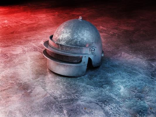 现代头盔3D模型【ID:826222458】