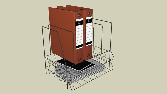 办公用品、办公设备、文具SU模型【ID:939711818】