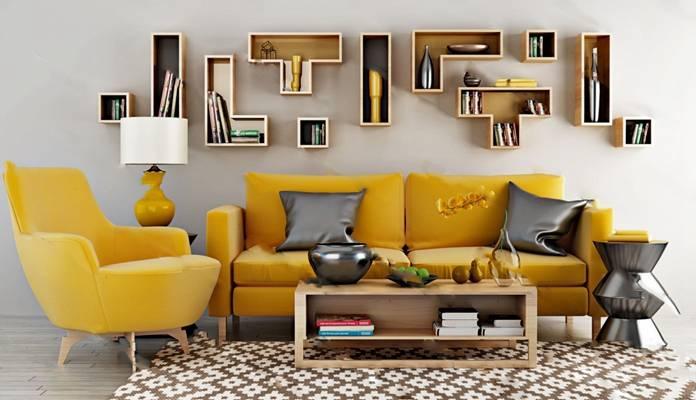 现代沙发茶几组合3D模型下载【ID:319402370】