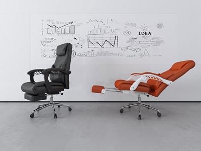 现代办公椅3D模型【ID:732413472】