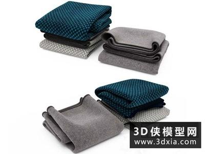衣服模型組合國外3D模型【ID:929387607】