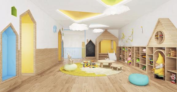 儿童活动区3D模型【ID:941712697】