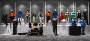 现代服装店模特婚纱模特3D模型【ID:527797183】