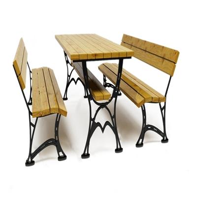 户外休闲桌椅组合3D模型【ID:734039520】