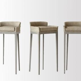 �F代吧椅 3D模型【ID:941804275】