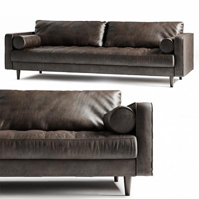 现代双人沙发3D模型【ID:926233736】