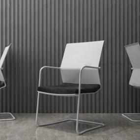 现代办公会议椅子3D模型【ID:231429906】