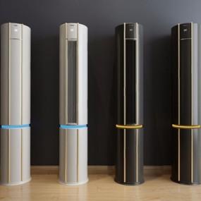 现代海尔空调3D模型【ID:128221850】