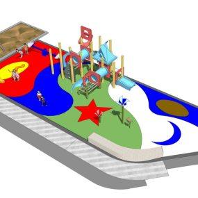儿童活动区SU模型【ID:536382115】