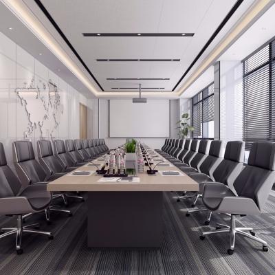 現代辦公會議室3D模型【ID:728470818】
