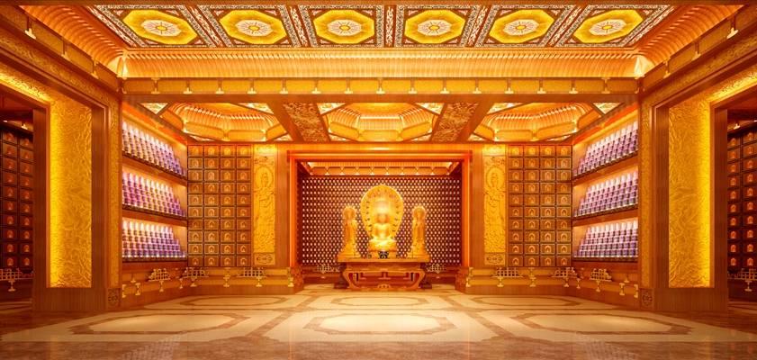 东南亚白色酒店会所3D模型【ID:514960154】