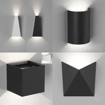 現代金屬壁燈組合3D模型【ID:527802904】