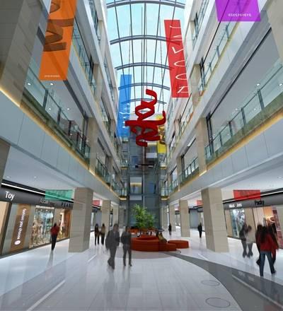 现代商场大厅3D模型【ID:515052600】