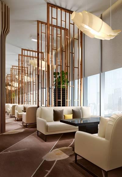 现代酒店休息区3D模型【ID:515229297】