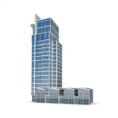 商业高层3D模型【ID:515246433】
