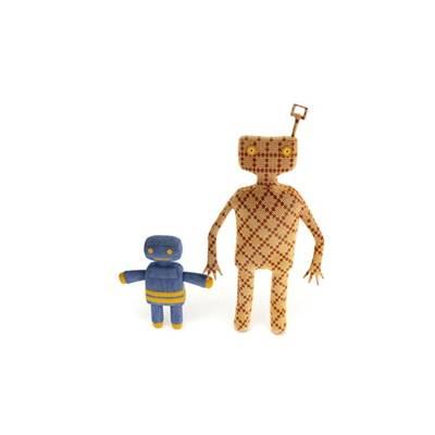 布艺玩具机器人3D模型【ID:515249601】
