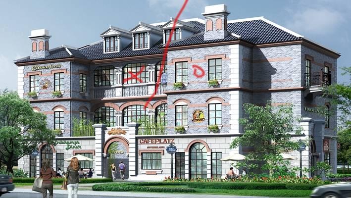 户外欧式建筑243D模型【ID:515353558】