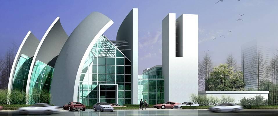 户外艺术风格建筑1043D模型【ID:515358417】