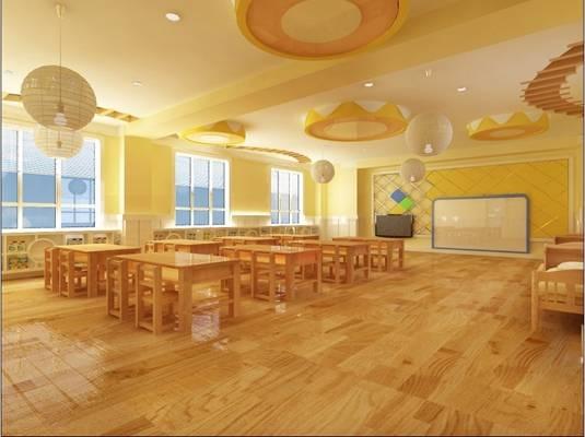 幼儿园3D模型【ID:515402179】