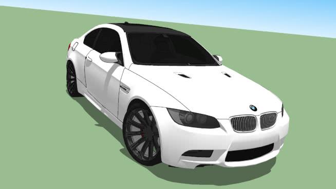 寶馬M3SU模型【ID:437899960】