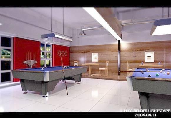 桌球13D模型【ID:517061410】