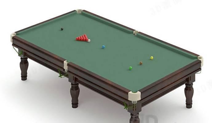 桌球13D模型【ID:517115405】