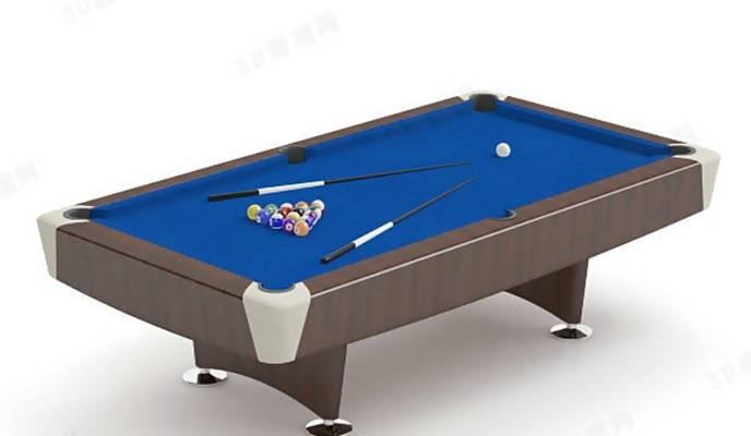 桌球13D模型【ID:517124492】