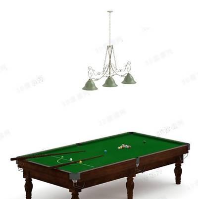 桌球23D模型【ID:517125403】