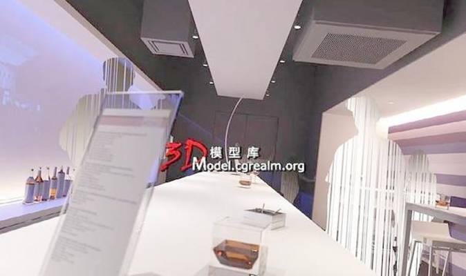 家居吧台33D模型【ID:517163334】