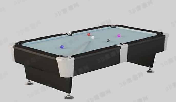 桌球23D模型【ID:517245439】