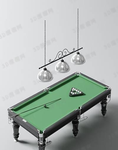 桌球43D模型【ID:517245448】