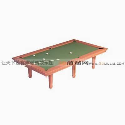 桌球83D模型【ID:517245472】