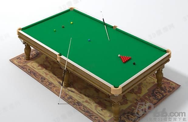 桌球23D模型【ID:517253495】