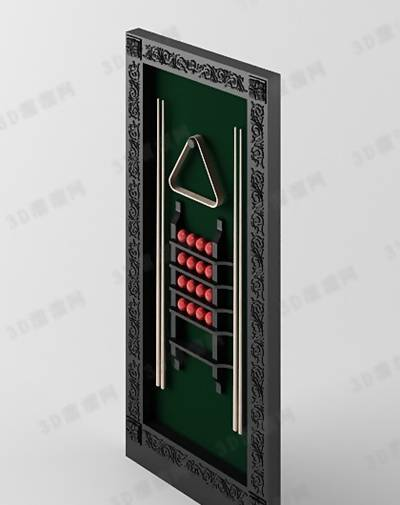 桌球13D模型【ID:517303471】
