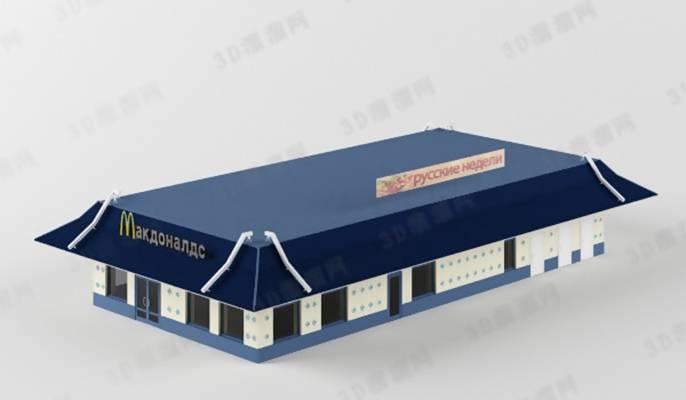 商业餐饮13D模型【ID:517319504】