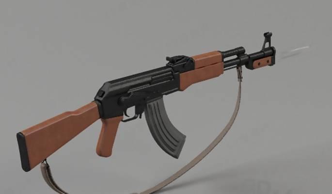 玩具枪23D模型【ID:517331270】
