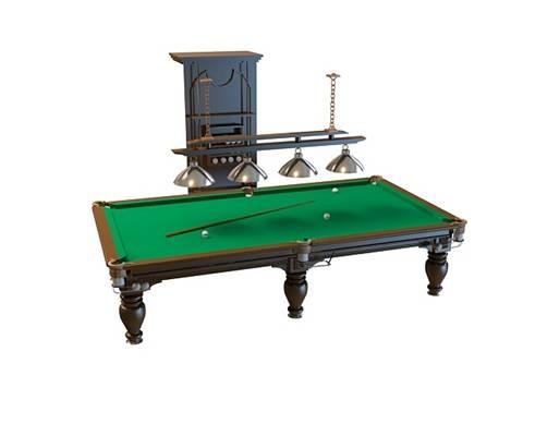 桌球13D模型【ID:517332468】