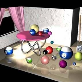 桌球23D模型【ID:517332471】