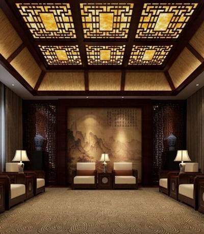 酒店休息区63D模型【ID:517370269】