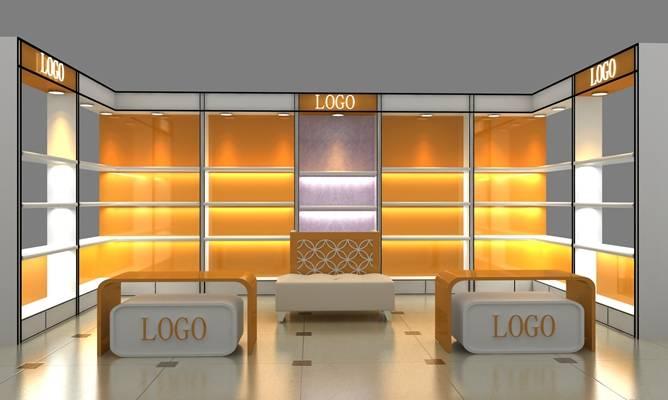 现代其他展厅3D模型【ID:517465401】
