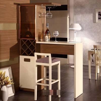 现代家居吧台3D模型【ID:517499363】